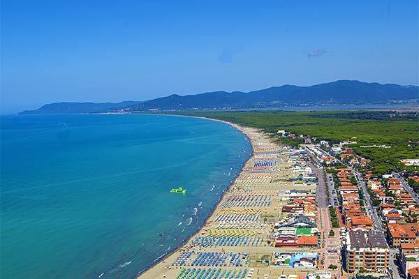 Resort fronte mare