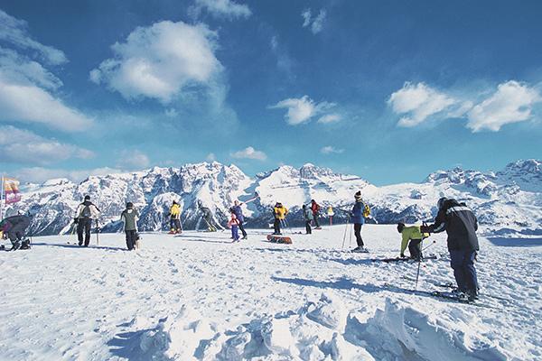 Sci & benessere sulle Dolomiti di Brenta
