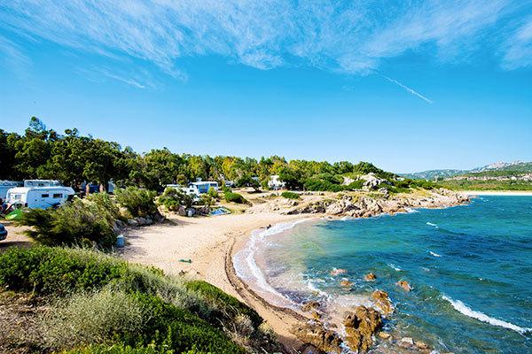 Hotel-Resort in Camping Village, in Costa Smeralda