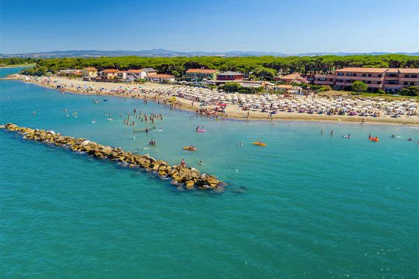 In Toscana, direttamente sul mare