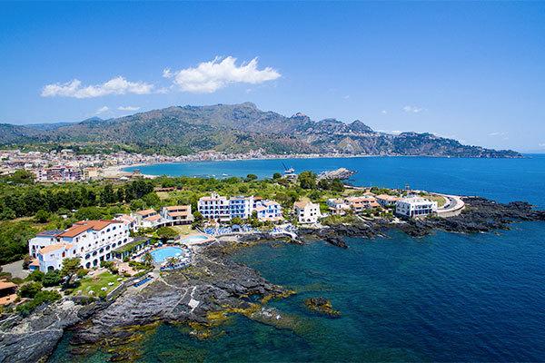 4* con vista su Taormina e sull'Etna