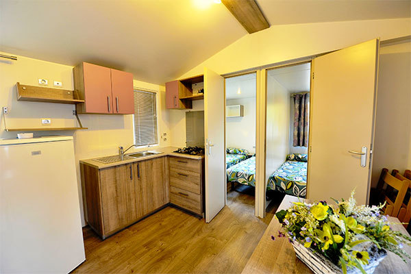 Bungalow e mobile home in camping village