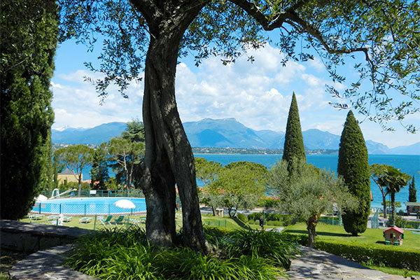 Vista panoramica sul Lago di Garda