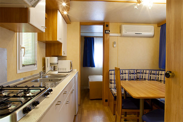 Mobile Home in camping village