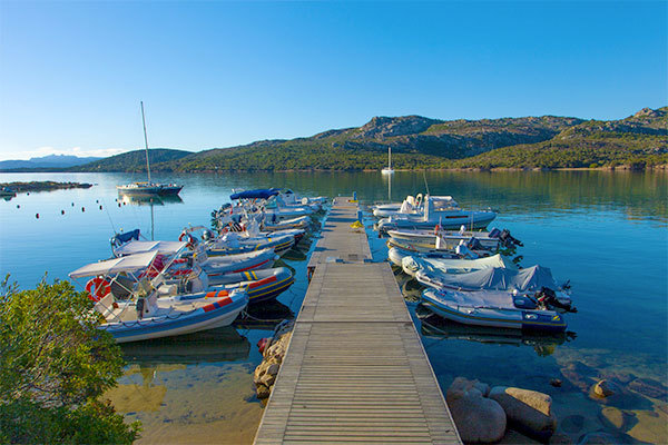 Di fronte all'Arcipelago di La Maddalena