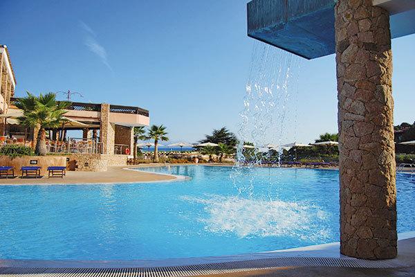 Raffinato resort in uno scenario unico