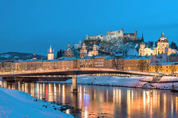 Alla scoperta della città di Mozart.