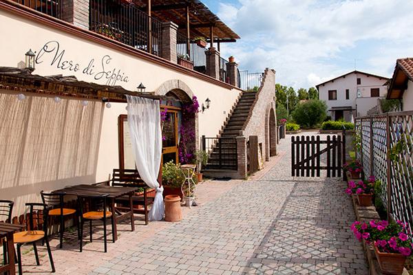 Tipica atmosfera del borgo toscano