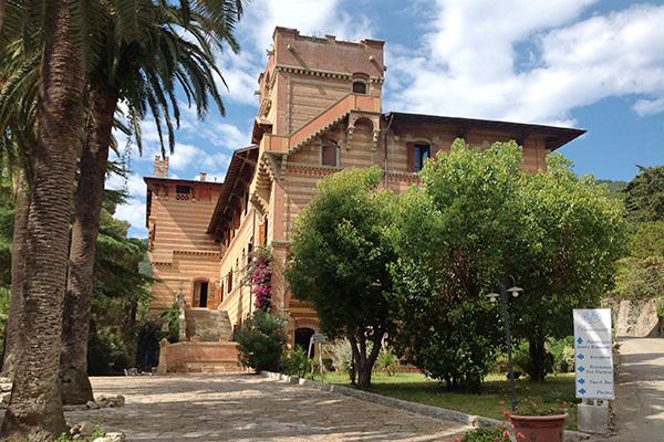 Isola d'Elba in una villa ottocentesca