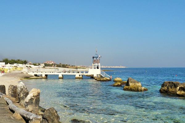 Spiaggia privata, mare cristallino