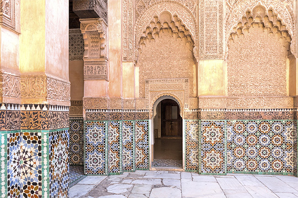 Armonie e contrasti sulla via della Kasbah
