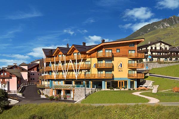 Accoglienza in tipico hotel di montagna
