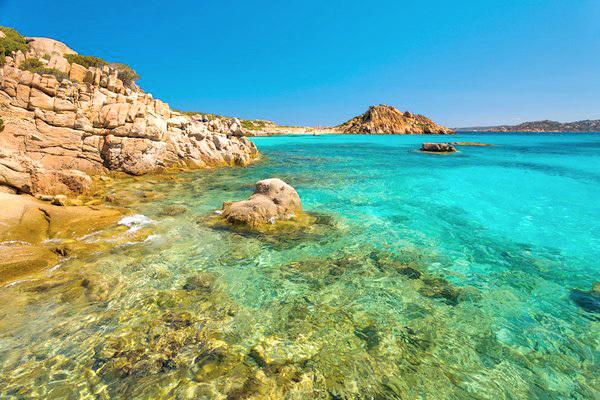 Vista spettacolare sul golfo della Maddalena