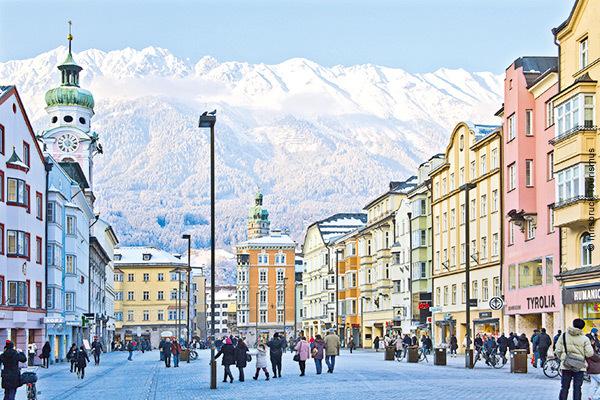 Posizione strategica a Innsbruck