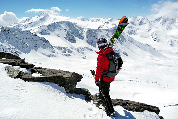 Sci nel Parco Nazionale dello Stelvio