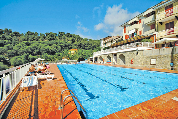 In stile mediterraneo, sulla Riviera Ligure