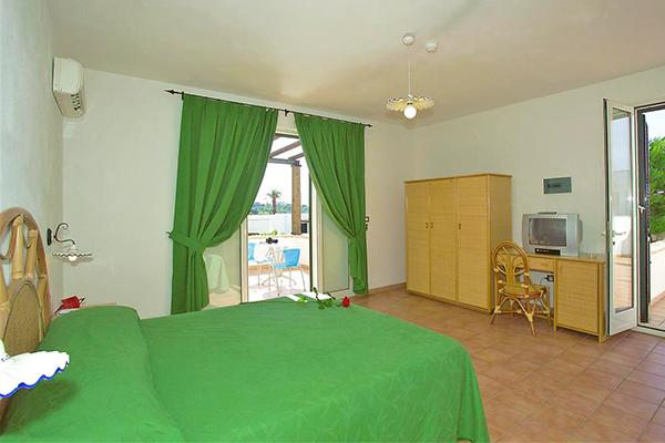 Panoramico resort, ideale per bambini
