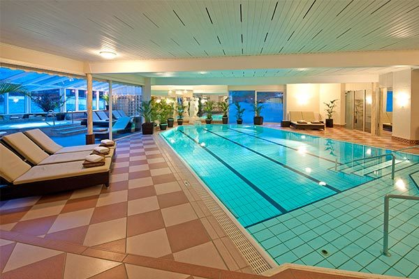 Wellness in 1200 mq di Spa