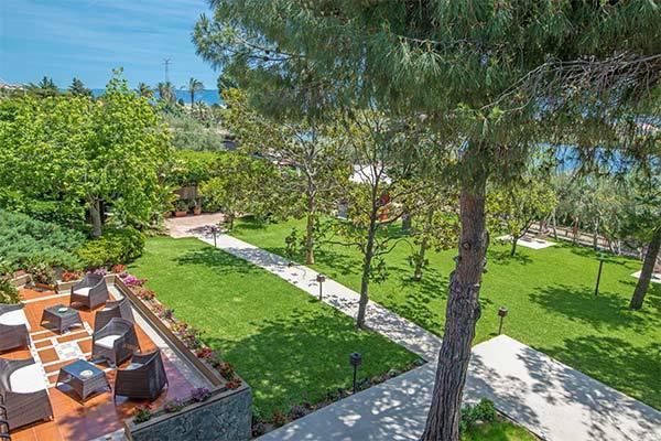 In elegante villa, a 1 km dal mare