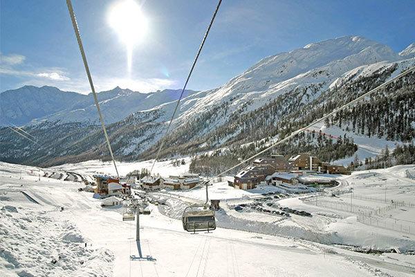 Ai piedi del ghiacciaio della Val Senales