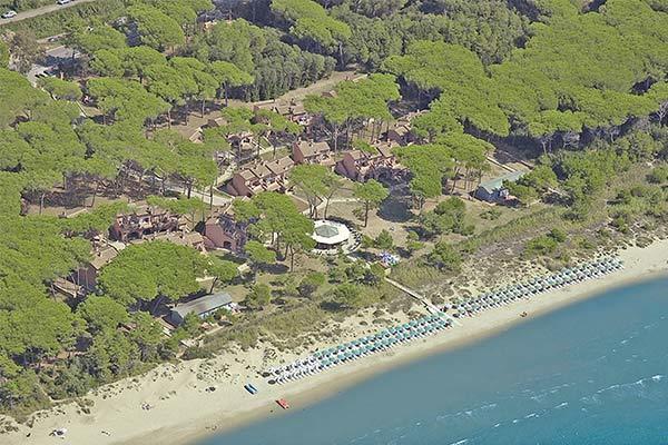 Villaggio sul mare a Follonica