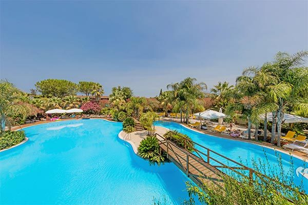 Family Resort con spiaggia privata
