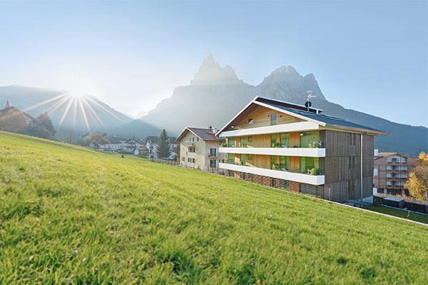 Appartamenti top, ai piedi delle Alpi di Siusi