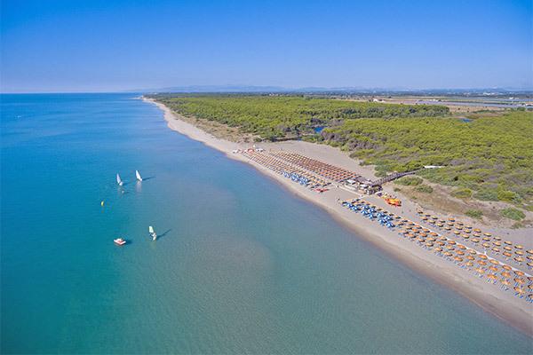 Comfort e servizi impeccabili, sulla spiaggia del Salento