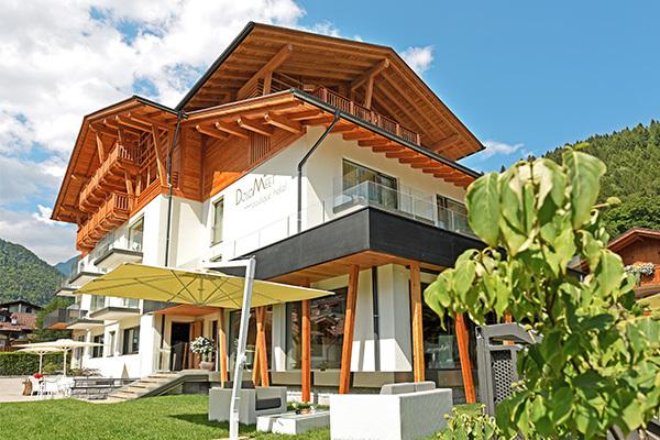 Hotel di charme nel cuore delle Dolomiti