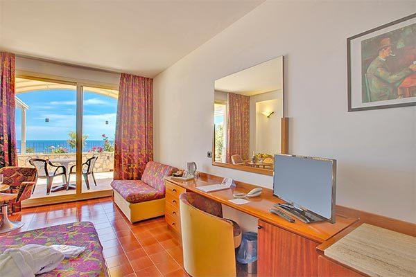 Con vista sulla Baia di Taormina