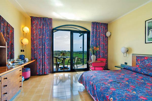 Con vista su Taormina e sull'Etna