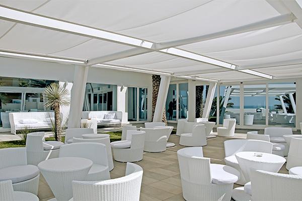 Resort con accesso diretto al mare