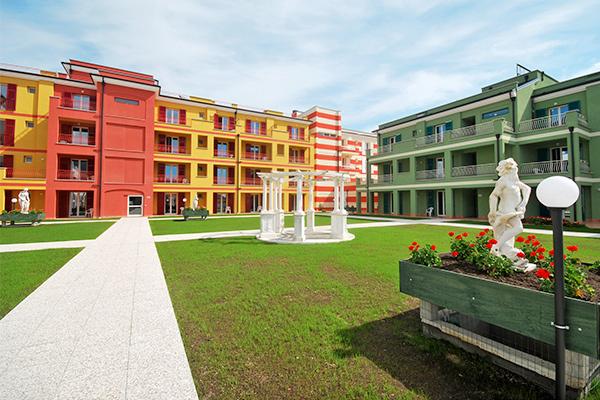 Appartamenti in wellness resort, fino a 7 posti letto