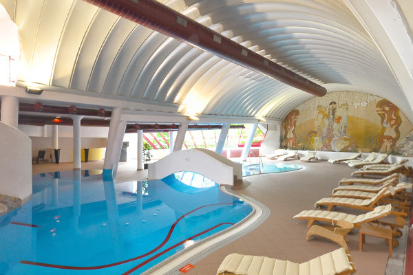 Wellness in una fortezza medievale