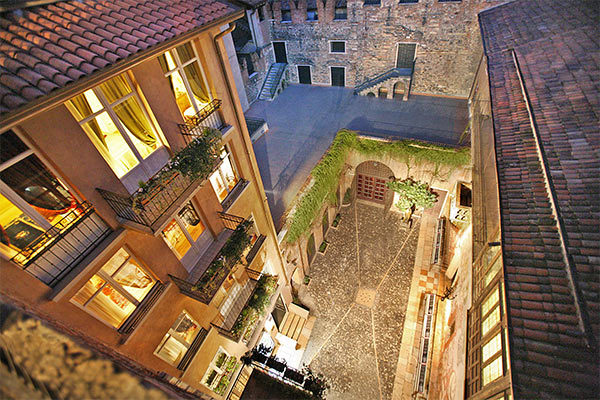 Esclusivo Relais all'interno del Balcone di Giulietta