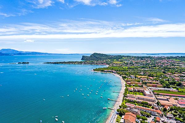 Massimo comfort, direttamente sul lago di Garda