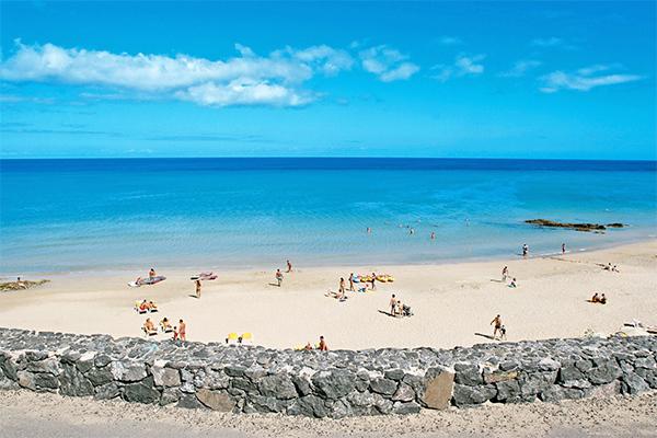 Spiagge ampie e sole tutto l'anno