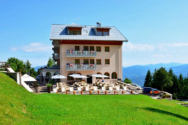 Vista panoramica sul Monte Bondone