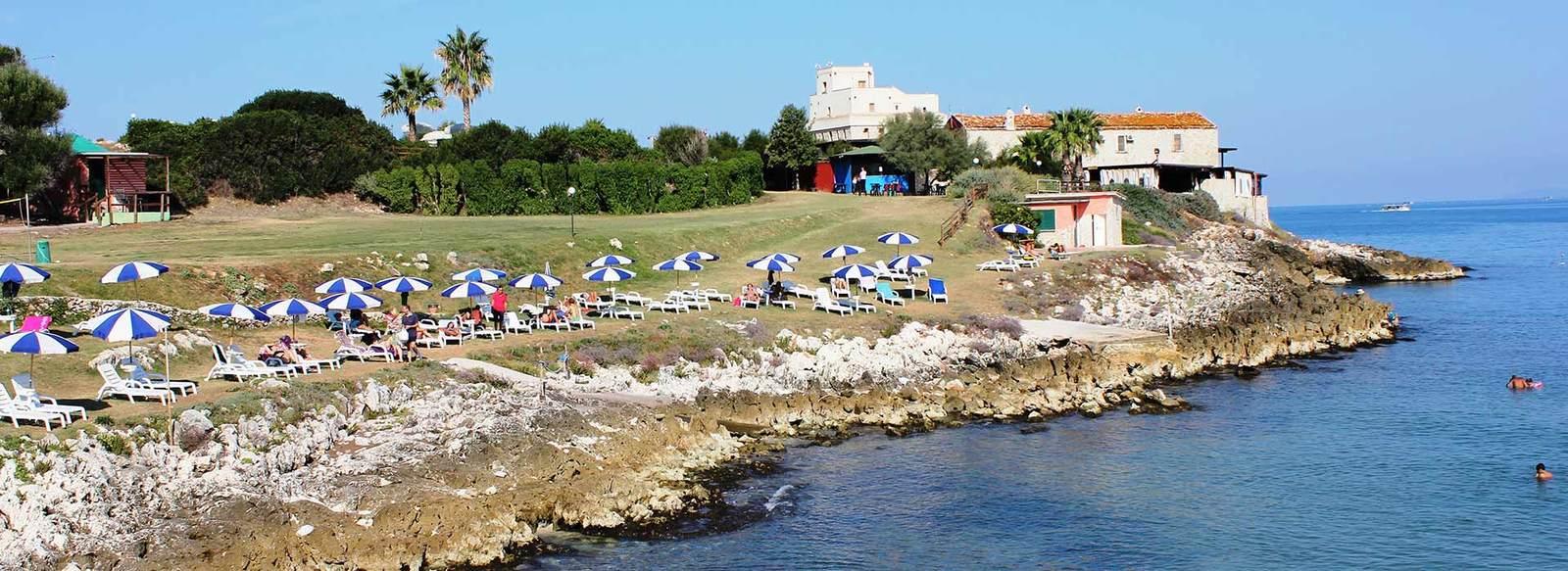 Villaggio per famiglie, direttamente sul mare