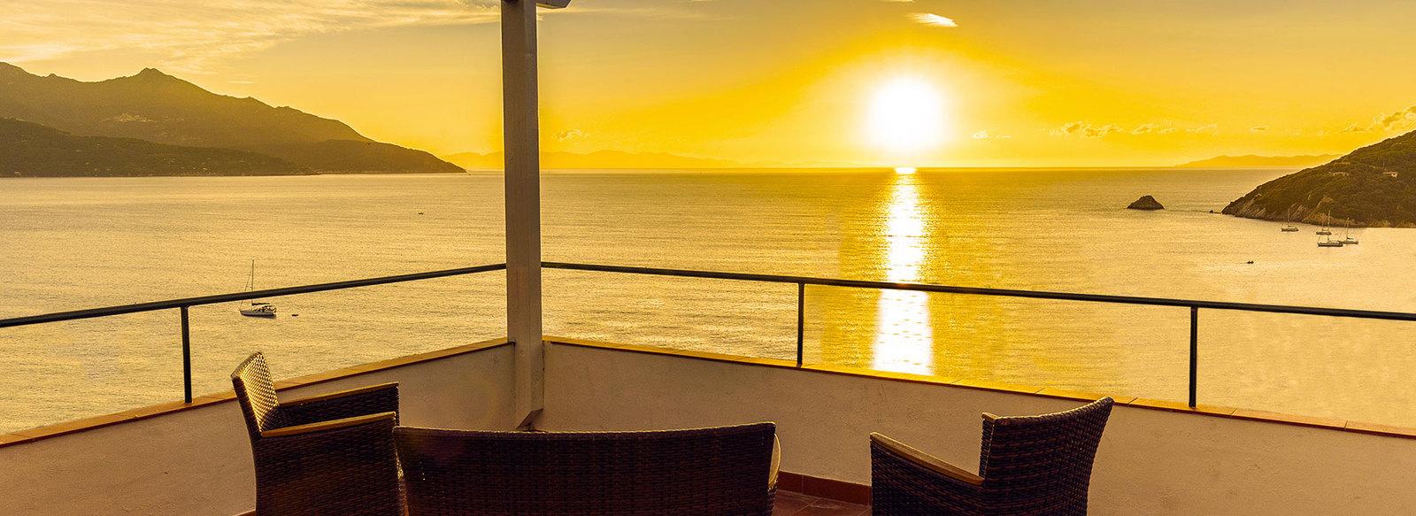 Vista panoramica sul Golfo del Viticcio
