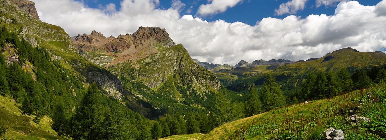 Trekking all'estremo confine Nord dell'arco alpino