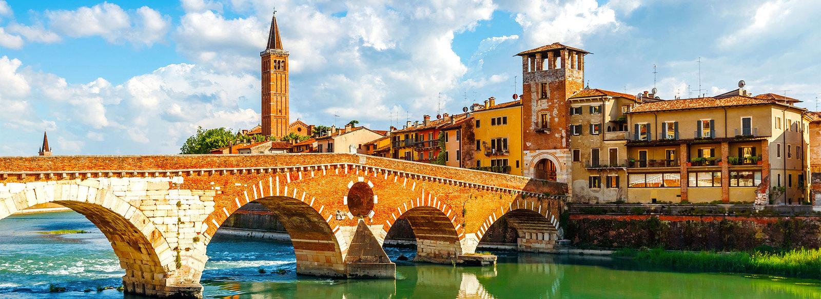 Nella zona fieristica di Verona