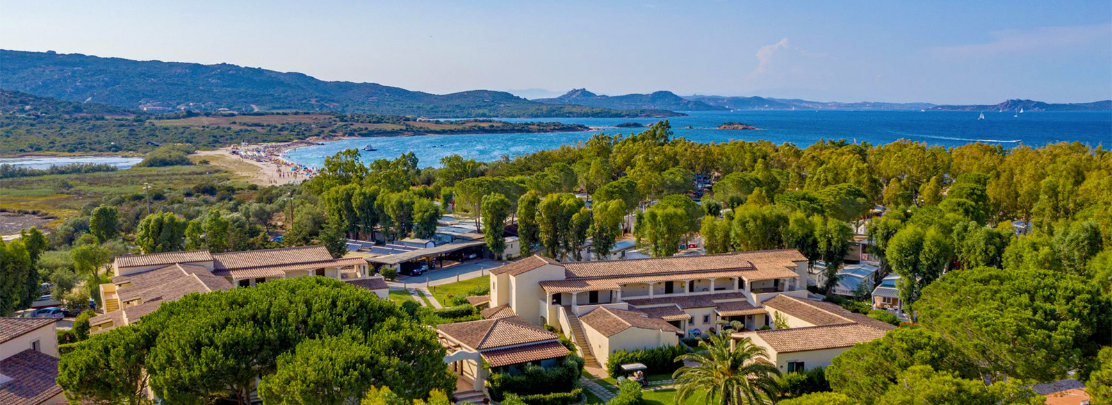 Hotel-Resort in Camping Village, in Costa Smeralda