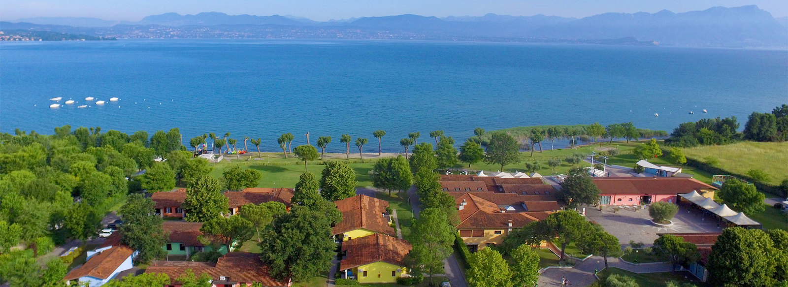 Direttamente sul Lago di Garda