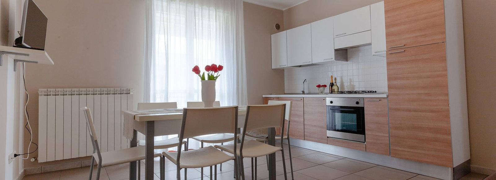 relax con tutti i comfort in appartamenti rinnovati e servizio spiaggia incluso