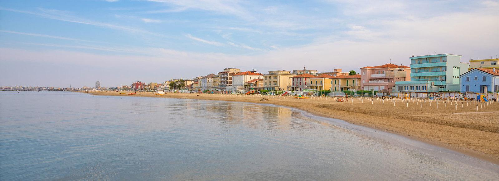 Semplice ed essenziale, nella Riviera Romagnola