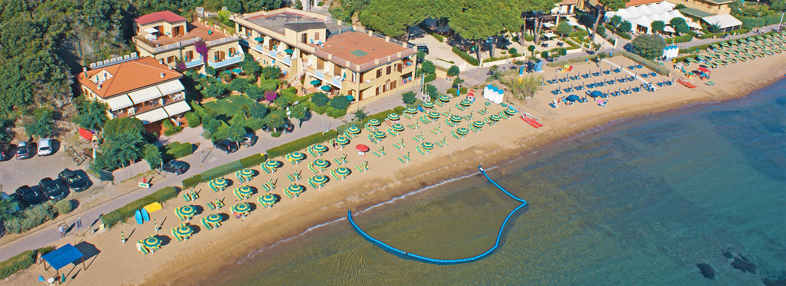 Residence fronte mare per famiglie