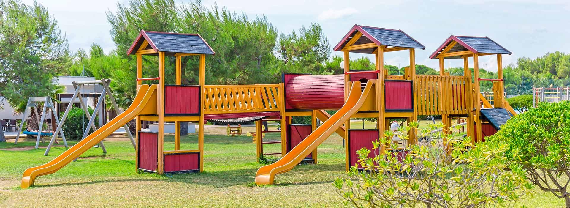 Graziosi cottage immersi in un parco di 6 ettari