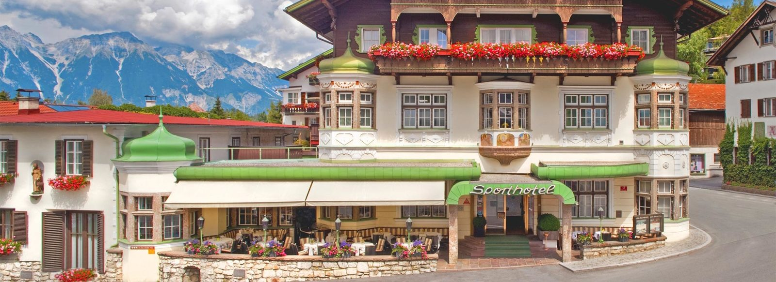 Sulla collina di Innsbruck