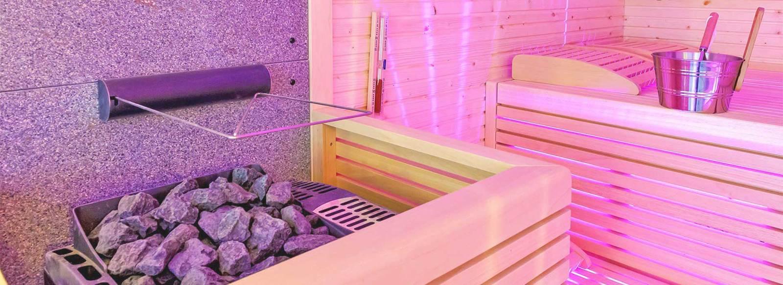 Coccole in 2.300 mq di spa